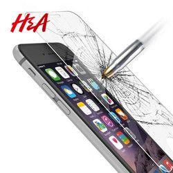H & A 0.3mm 9 H Couverture En Verre Trempé Pour iPhone 8 7 6 6 s Plus Protecteur D'écran Pour iPhone 6 7 8 6 s De Protection En Verre Trempé