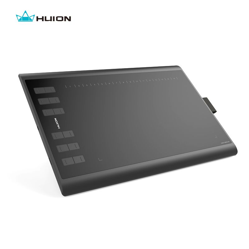 Huion New 1060 Plus 8192 Levels Digital Tablet Graphics Drawing Tablets Animation Drawing <font><b>Board</b></font> Pen Tablet