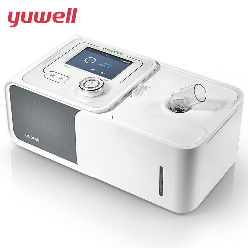 yuwell Auto CPAP Home Machine YU560 Respirator Sleep Snoring Apnea Stop Snore With Humidifier Mask Hose Bag Free Shipping YU560