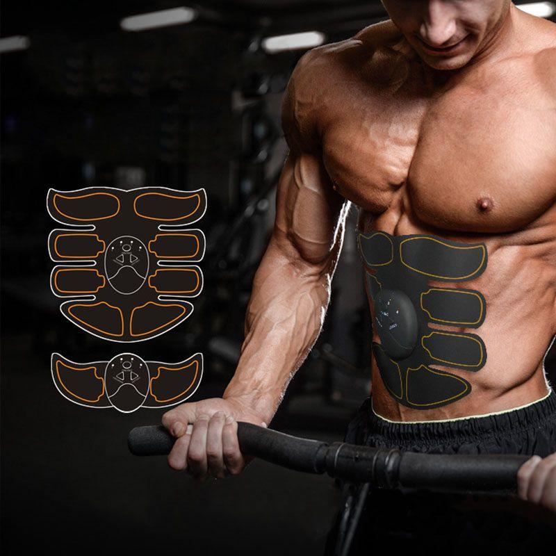 Multi-ems appareil de musculation abdominale stimulateur musculaire électronique appareil d'exercice corps minceur Fitness costume de Massage