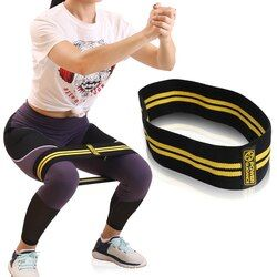Power Guidance Hip Resistance Bands Fitness Equipment For Warmups Squats Mobility Workout Leg More Comfortable