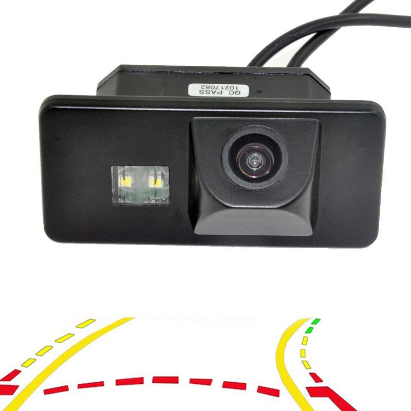 Variable Dynamic Tracks Car Rear View Backup Camera For BMW 1/3/5/6 Series X6 X5 E39 E81 E87 E90 E91 E92 E60 E61 E70 E71