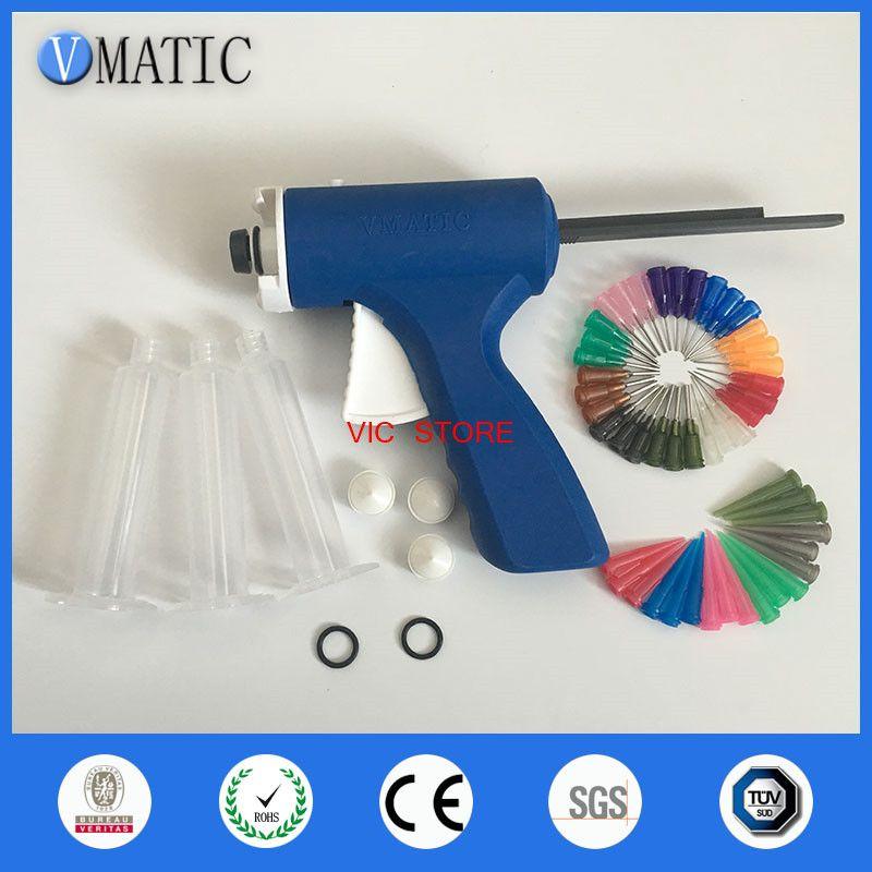 Free Shipping Plastic 10cc/ml Dispensing Syringe Barrel Gun