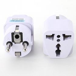 EPULA Électrique Socket Universal UK US UA à L'UE AC Power Socket Plug Voyage Chargeur Adaptateur Convertisseur 220 v 10A socket