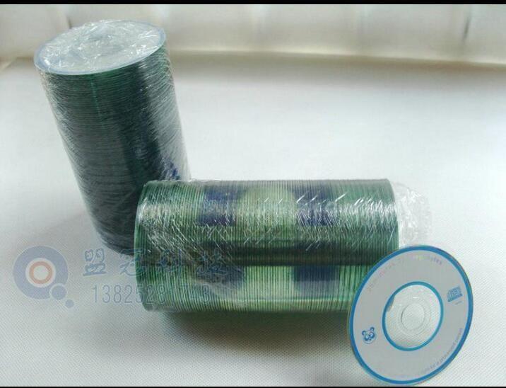 8 cm haute qualité mini disque vide/blanc disque CD/disque pour CD-R 215 mo/25 MIN 100 pièces