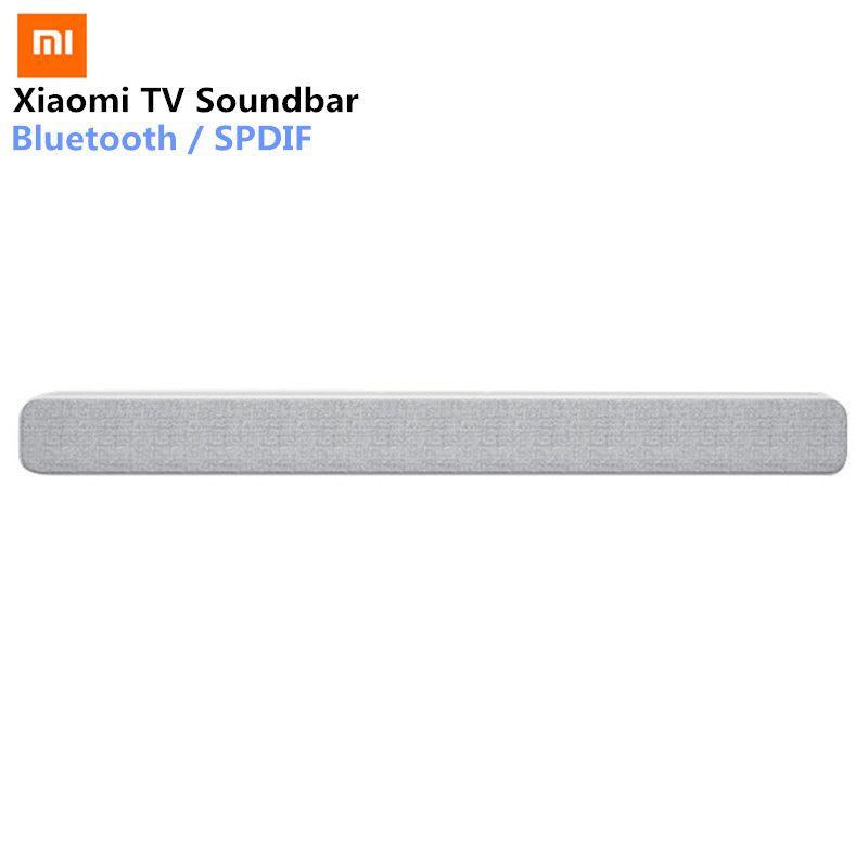 Xiaomi Wireless TV Soundbar Bluetooth Speaker Stylish Fabric Sound bar Support Bluetooth Playback Optical SPDIF AUX IN For Home