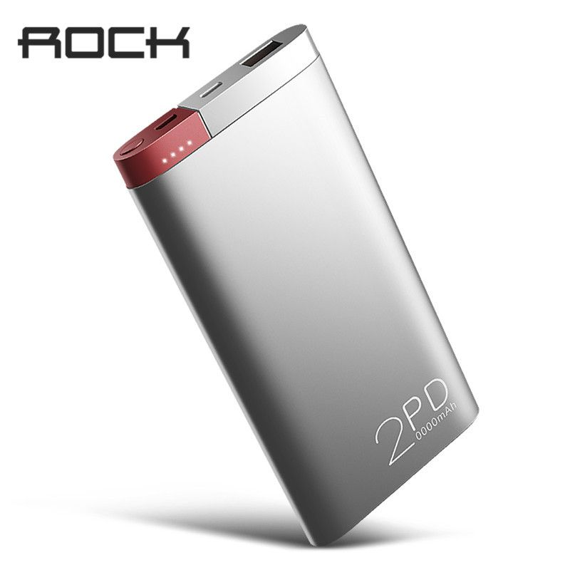 ROCK Power Bank 20000 mah PD QC3.0 2,0 Quick Charge Power Tragbare Externe Batterie Ladegerät für iphone X Samsung Xiaomi