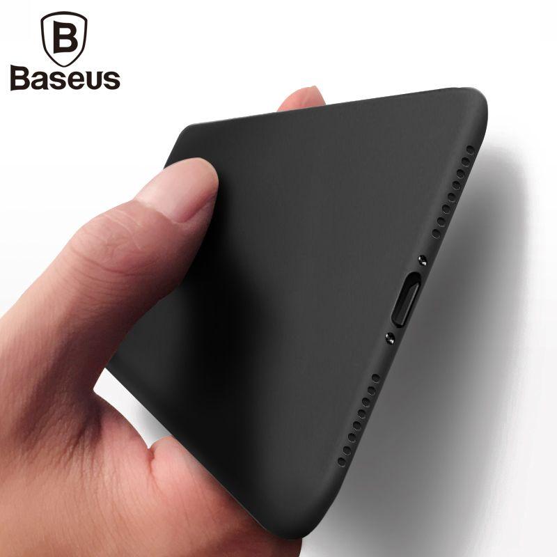 Чехол для телефона iphone 8 7 6 6S BASEUS ультра тонкий PP матовый чехол для iphone 8 7 6 6S Plus матовая Coque capinhas для iphone7