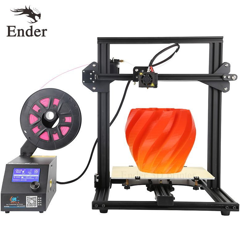 Large Print Size CR-10 Mini 3D printer DIY KIT Auto Resume Print after Power Printer 3D with 200g Filament+Hotbed Creality 3D