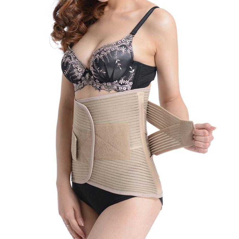 Ceinture d'exercice minceur réglable femmes et hommes Postnatal Abdomen Bandage taille soutien grande taille élasticité Bodybuild ceinture