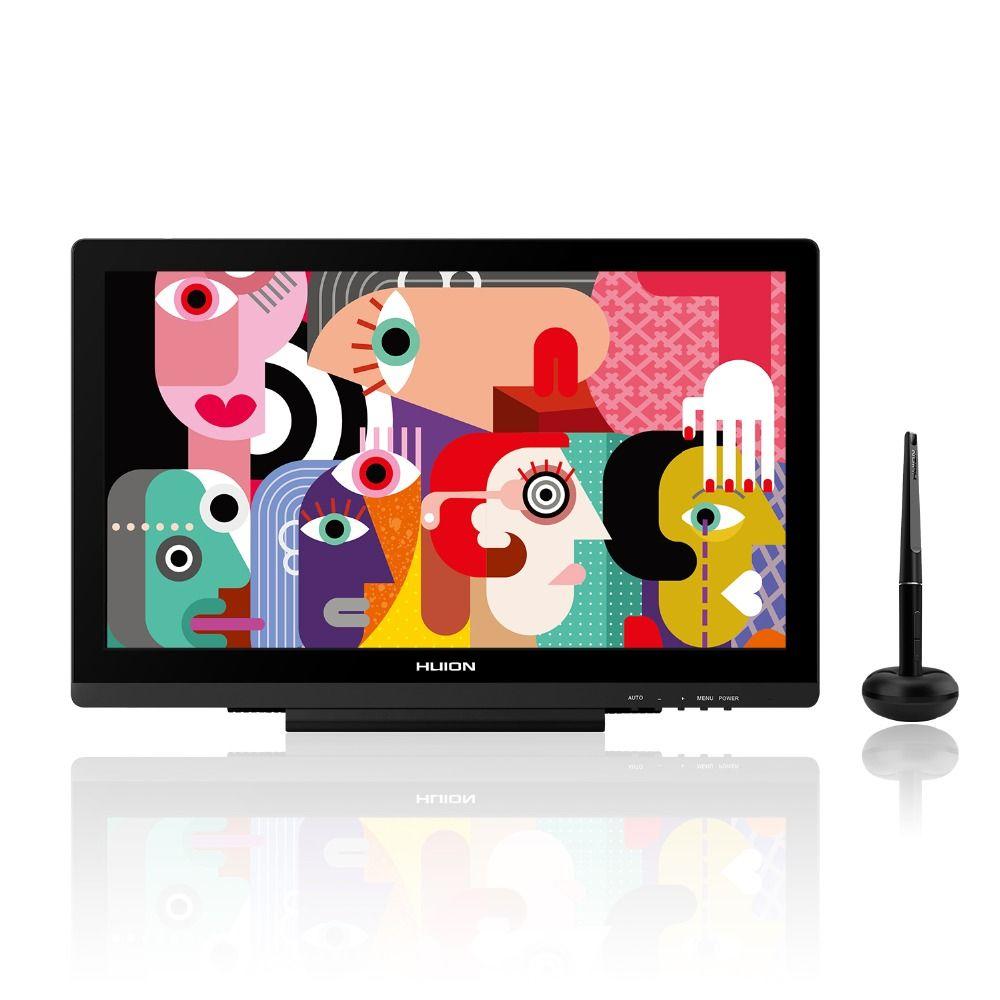 HUION KAMVAS GT-191 V2 8192 Ebenen Stift Tablet Monitor Batterie-freies Pen Display Monitor IPS HD Zeichnung Monitor mit AG Glas