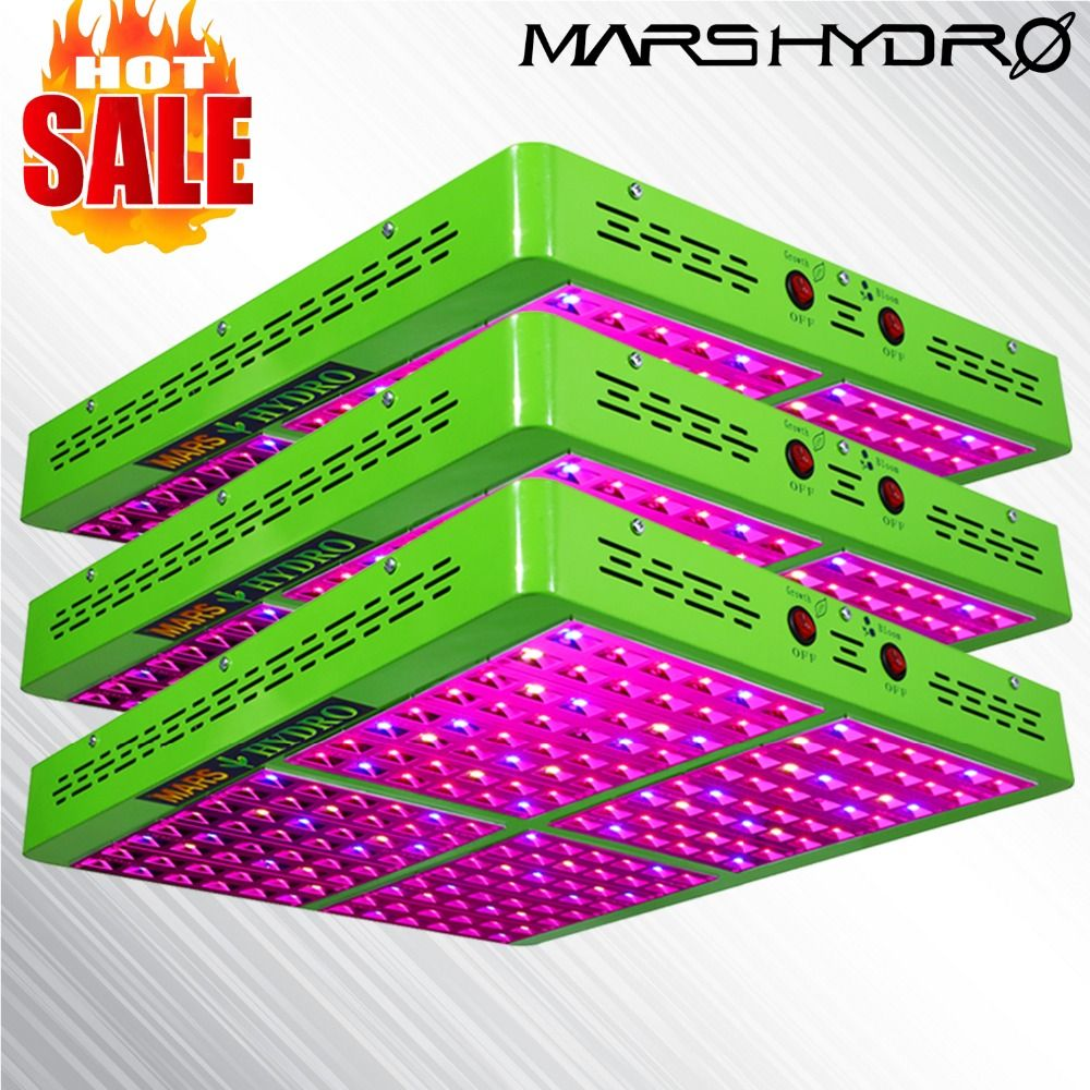 3PCS MarsHydro Reflector 960W LED Grow Light Hydroponics Lamp for Indoor Garden/Box
