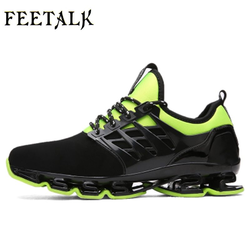 Super Cool breathable <font><b>running</b></font> shoes men sneakers bounce summer outdoor sport shoes Professional Training shoes plus size 46