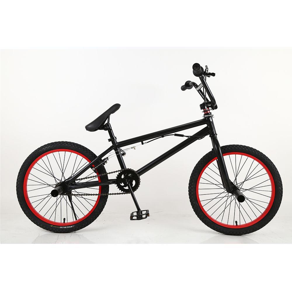 BMX bike steel frame, 20 inch men's freestyle show, own street corner extreme stunt, mountain bike rear brake, V bike stunt acti