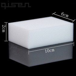 100 Pcs Wholesale White Magic Sponge Eraser Melamine Cleaner,multi-functional Cleaning 100x60x20mm 50Pcs