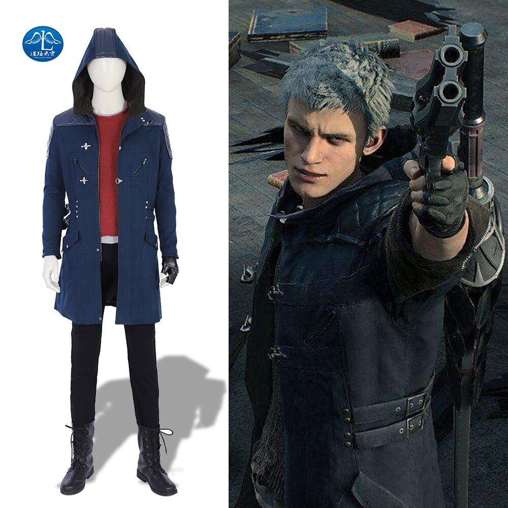 New Arrival Devil May Cry 5 Costume Men Game Full Set Nero Cosplay Costume Halloween Costumes For Men Adult Custom Made
