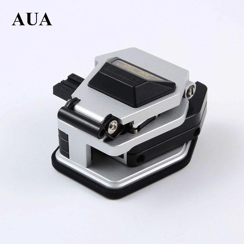 AUA SKL-80C Haute Précision Fiber Optique Cleaver Froide Et Hot Melt générique Câble Recouvert De Fibers De Fil cutter avec 3 dans 1 Luminaire