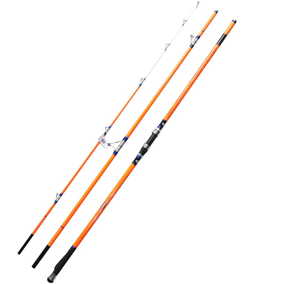 Cindy Surfcasting Rod FUJI Top Ring 3 Section 4.2m CW100G-250G Hybrid Tip High Carbon Surf Rod Fishing Rod