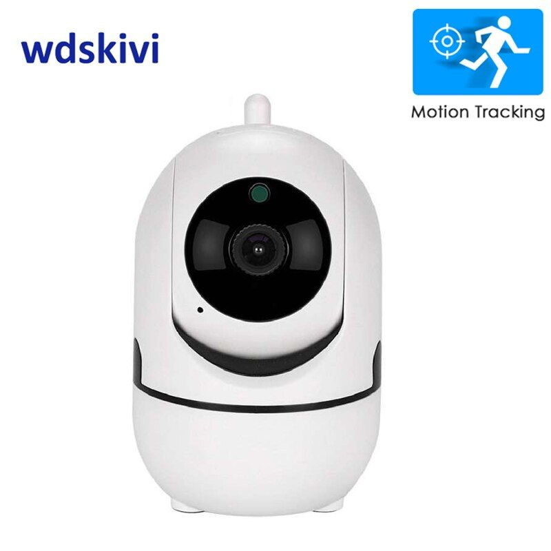 wdskivi 1080P Cloud Wireless IP Camera Intelligent Auto Tracking Indoor Home Security CCTV Network Wifi Camera Motion Detection