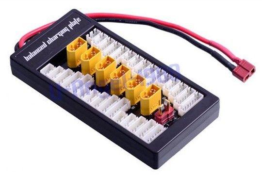 2 S-6 S Lipo parallèle carte de charge Balance/plaque de charge T Plug XT prise pour choisir-Imax B6 B6AC B8 + livraison gratuite
