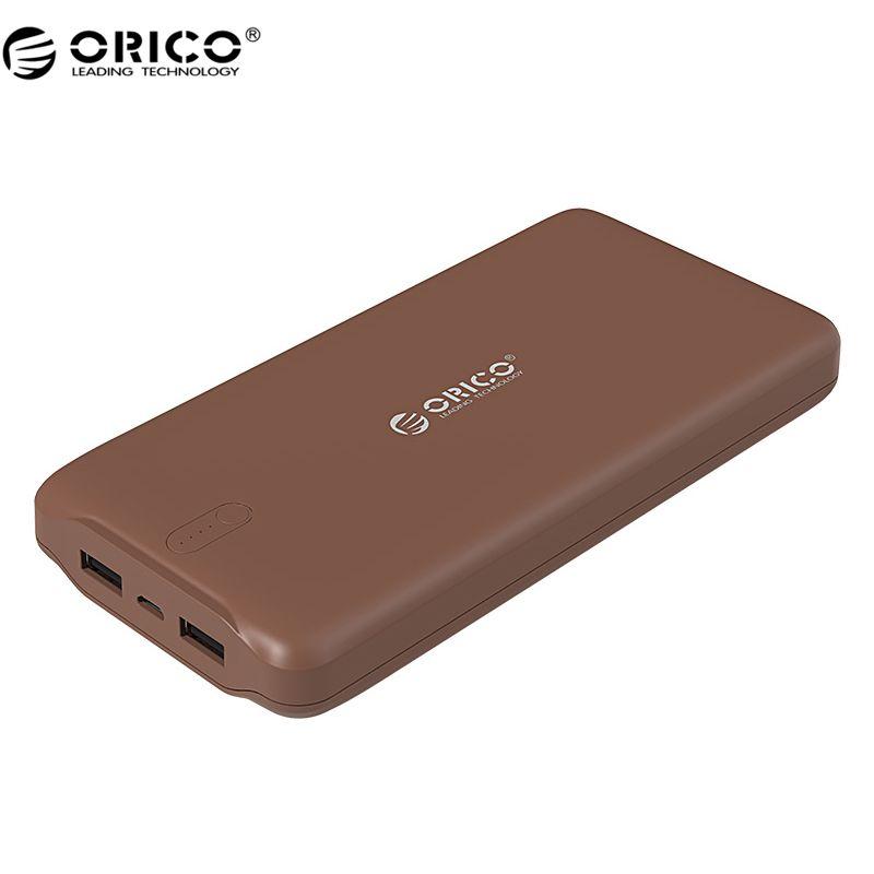 ORICO D20000 Mobile Power Banque 20000 mAh Scharge Polymère Puissance Banque Puissance Portable externe batterie Micro USB Pour Mobile Téléphone