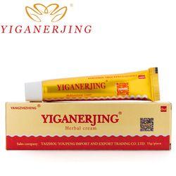 Yiganerjing проблемы кожи кремы псориаз кремы патчи с розничной коробке Китайский крем мазь Новый