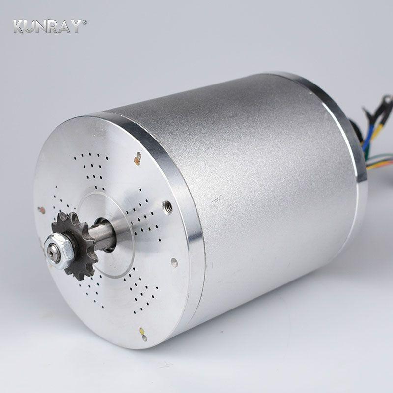 KUNRAY 60 V DC 2000 Watt Bldc-motor 4600 RPM Elektroroller E Fahrrad Bürstenlosen Motor Elektrische Fahrrad Zubehör