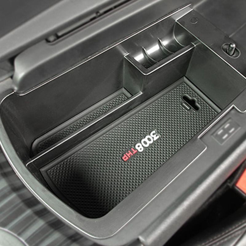 Carmonsons организатора автомобилей для Peugeot 3008 2011-2016 подлокотник ящик для хранения Контейнер держатель лотка Интимные аксессуары стайлинга авт...