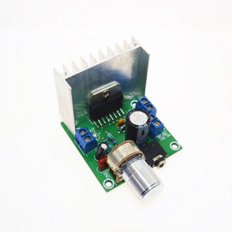 TDA7297 Audio Verstärker Board Modul Dual-Kanal Teile Für DIY Kit Dual-Kanal 15 watt + 15 watt digital Verstärker