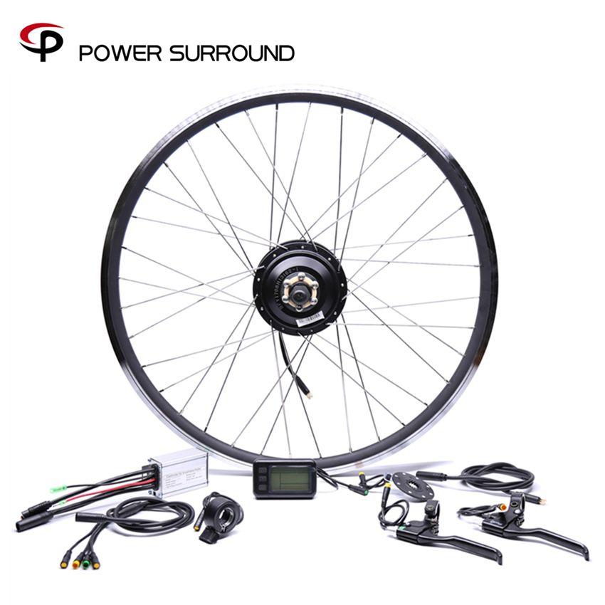 Electric Bicycle Waterproof 36v250w Bafang Front/rear Bike Conversion Kit Brushless Hub Motors 20'' 26'' 28'' Motor Wheel