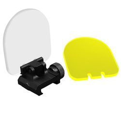 BARU 3mm Tebal Lensa Optic Scope Dilipat Perisai Protector Fit 20mm Rail Mount untuk Tujuan Olahraga Penutup Slider Red dot Reflex Penglihatan