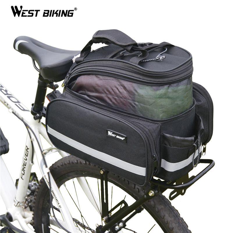 WEST BIKING 25KG Bicycle Rack Bike Rear Luggage Rack MTB Bike Accessories Bagageiro Bicicleta Cargo Backpack Bicycle Rack