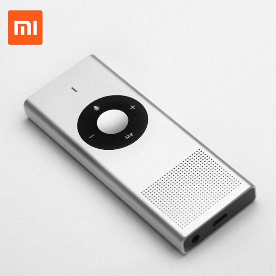 Original Xiaomi Mijia Konjak AI Voice Translator 14 Lauguages 7 Days Standby 8H Continuous Translate 900mAh Battery Smart