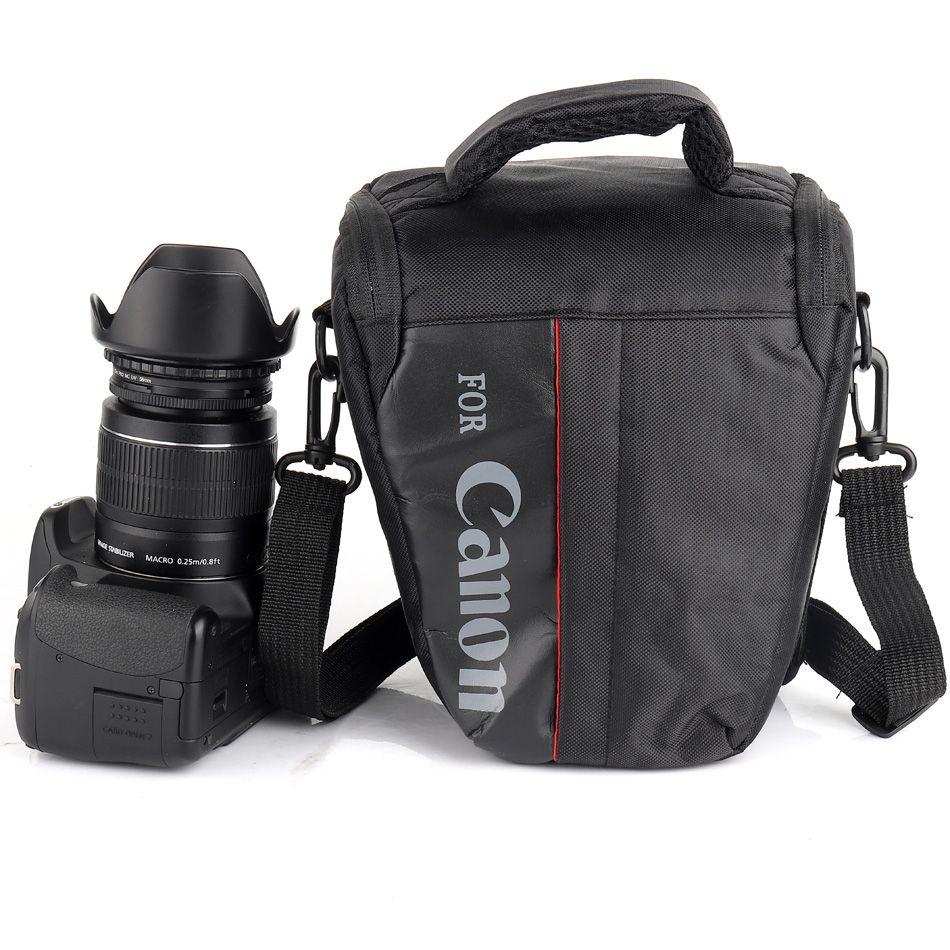 Étanche DSLR appareil photo Sac Pour Canon 100D 200D 77D 7D 80D 800D 6D 70D 550D 500D 450D T6i T5i T6 T5 T4 Canon Caméra Pochette