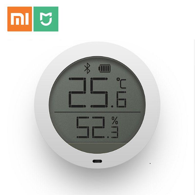 D'origine Xiaomi Mijia Bluetooth Hygrothermographe Haute Sensibilité Écran LCD Hygromètre Thermomètre Capteur Utilisation Avec Mijia App