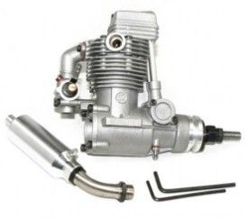 ASP 4 Stroke FS52AR Nitro Engine for RC Airplane