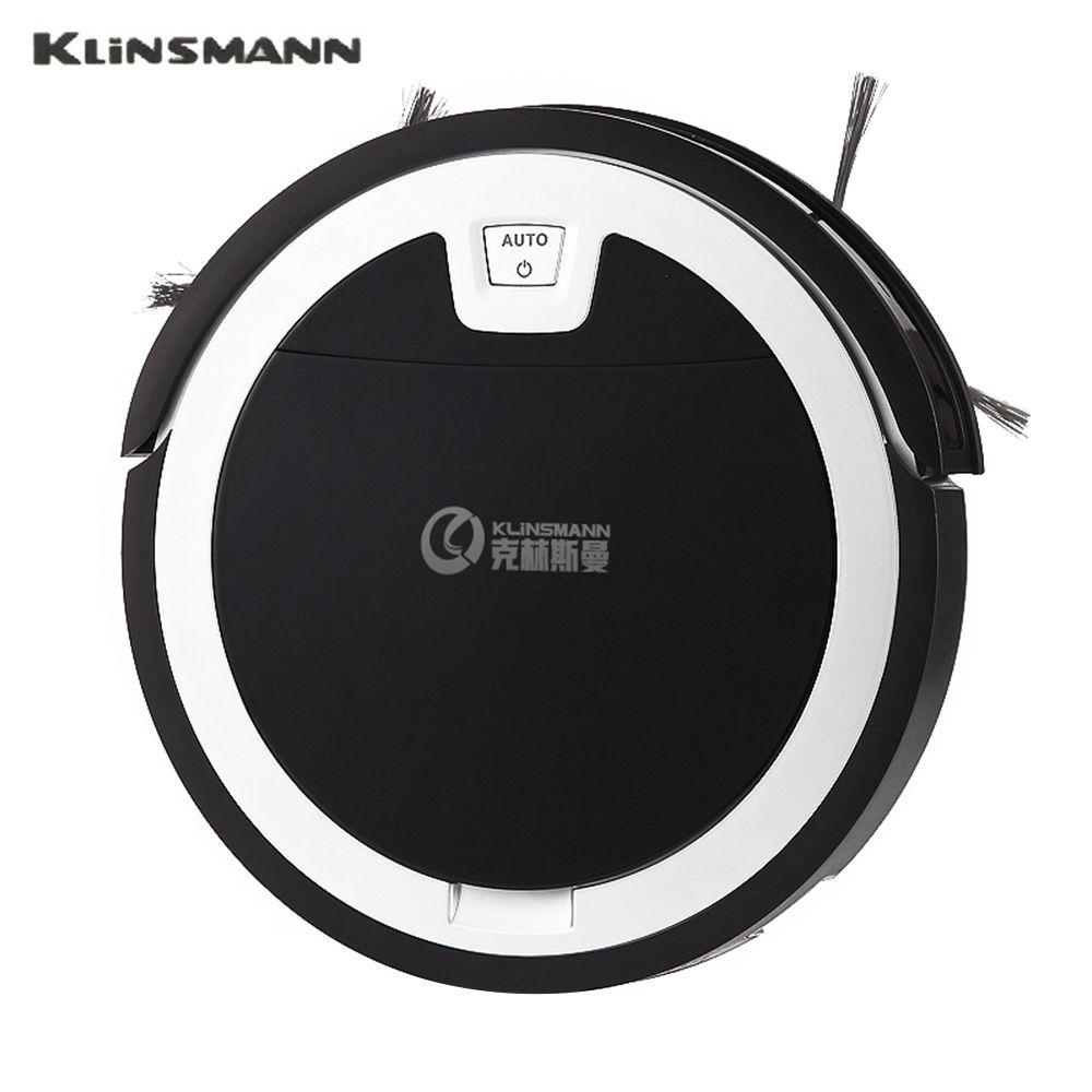 KLiNSMANN KRV310 Portable Ultra-Mince Automatique Aspirateur 1000 Pa Forte Aspiration APP de Contrôle À Longue Distance 2 Dans 1 Poussière boîte à eau
