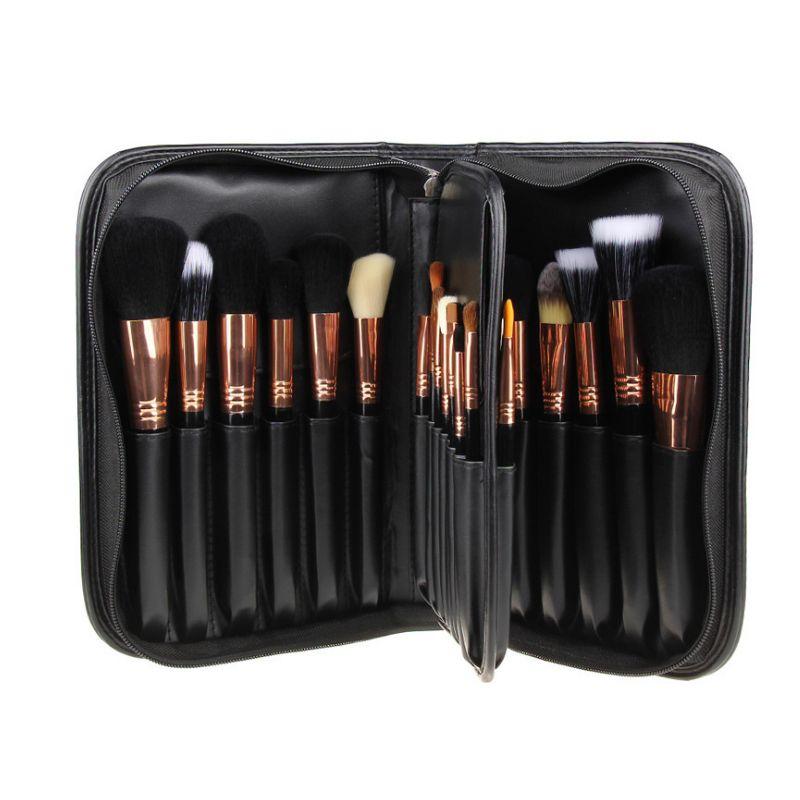 Brand New 29 Pcs Maquillage Brosses Set Top Qualité Cosmétiques Livre Livraison Gratuite Fard À Paupières de Mélange Eyeliner Lip Make Up Brush