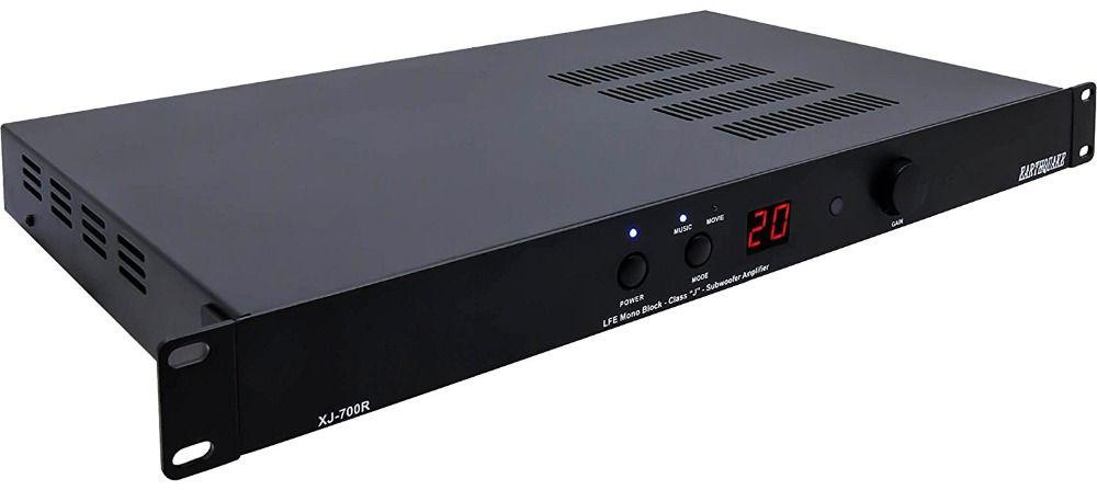 XJ-700R Tactile Transducer big Bass Shakers vibration speaker 4D theater LFE Mono block class J subwoofer amplifier