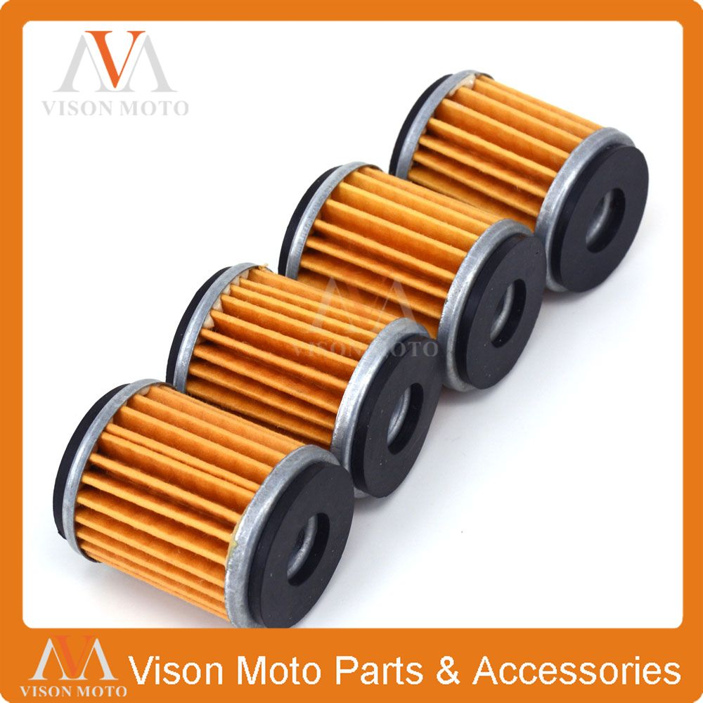 4PCS Motorcycle Oil Filter Cleaner For GAS GAS EC250F EC250 F 4T 2010 2011 10 11