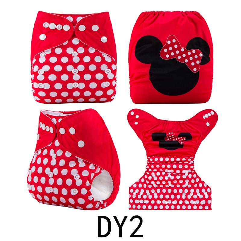 {AnAnBaby} Nuevo Diseño Bebé Pañal de Tela A Prueba de agua y Pañales Reutilizables de Posición Digital Que Eligió Con Inserciones de Microfibra O no