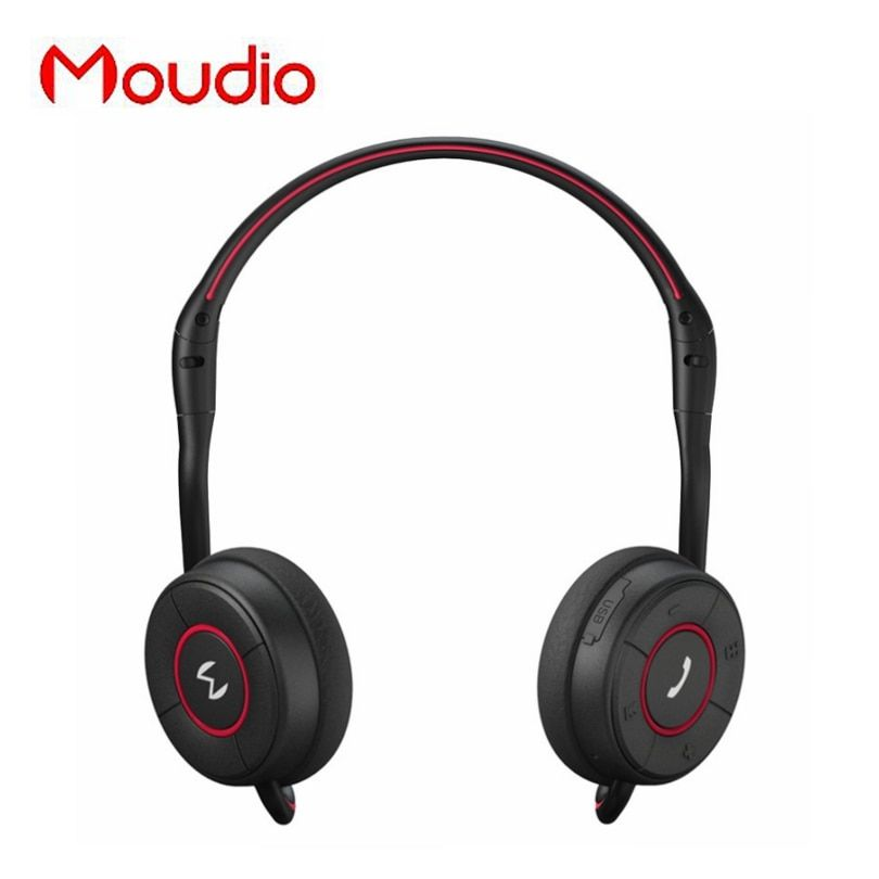 Moudio M100 Sports Wireless Over Ear Earphones Bluetooth Jogger Running Headphones With Hidden Microphone For Apple <font><b>Andorid</b></font>