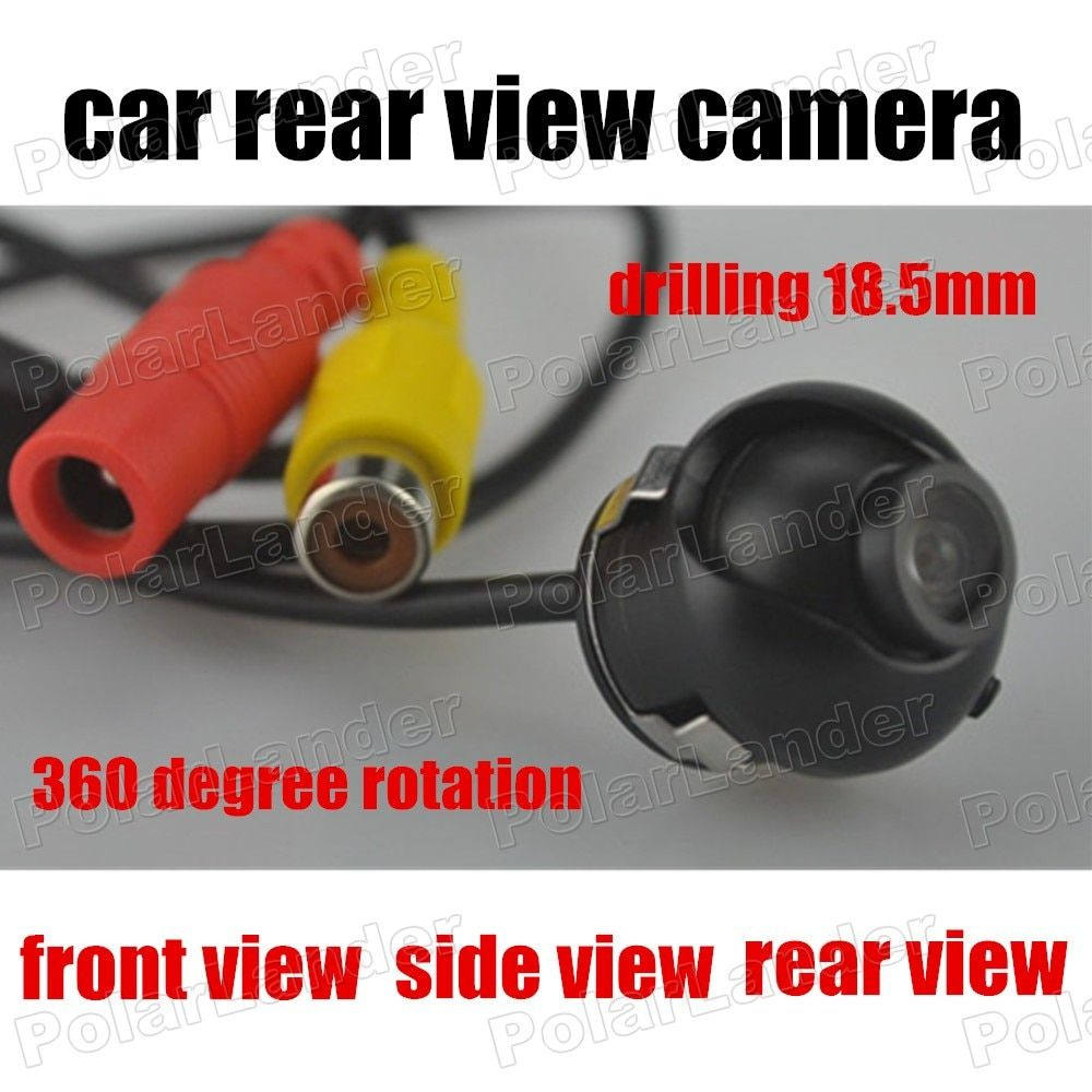 Car Reverse Camera rear view front view side view 170 degree  wide angle rear Camera Backup Camera 360 degree 18.5mm drilling