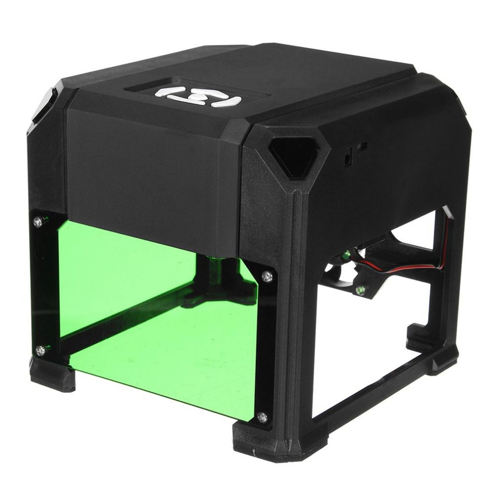 1500mW USB Laser Engraver DIY Logo Mark Printer Cutter Carver Engraving Laser Carving Machine for Plane Surface Professional