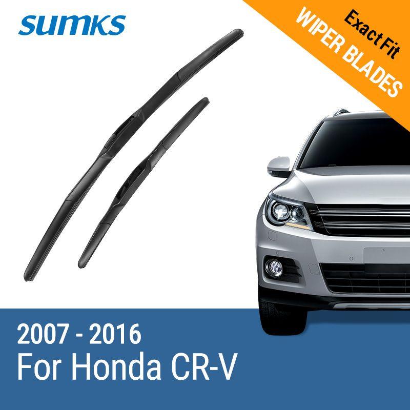 SUMKS Escobillas para Honda CR-V 26