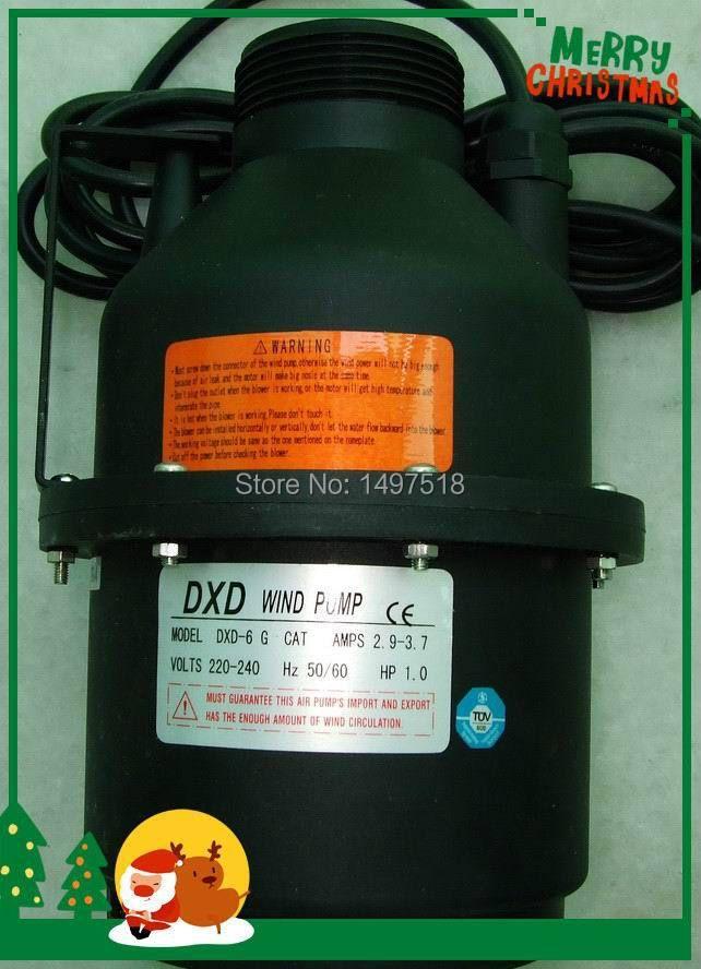 DXD-6 G KATZE AMPS 2,9-3,7 1.0HP luftgebläse/wind pumpe für für spa & badewanne sprudelnden mit CE, TÜV, ROhs Zertifiziert