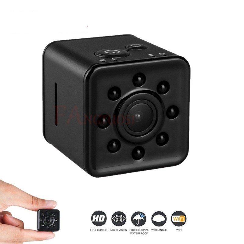 Volemer Full HD 1080 P WIFI Mini caméra 30 m étanche coque CMOS capteur Vision nocturne enregistreur caméscope Micro petite caméra à came