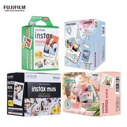 Fujifilm Instax Mini 9 30/40/50/60/70/80/100 Sheets White Colorful Instax Film Photo Paper for Fujifilm Instax Mini8/9/7s/25/90