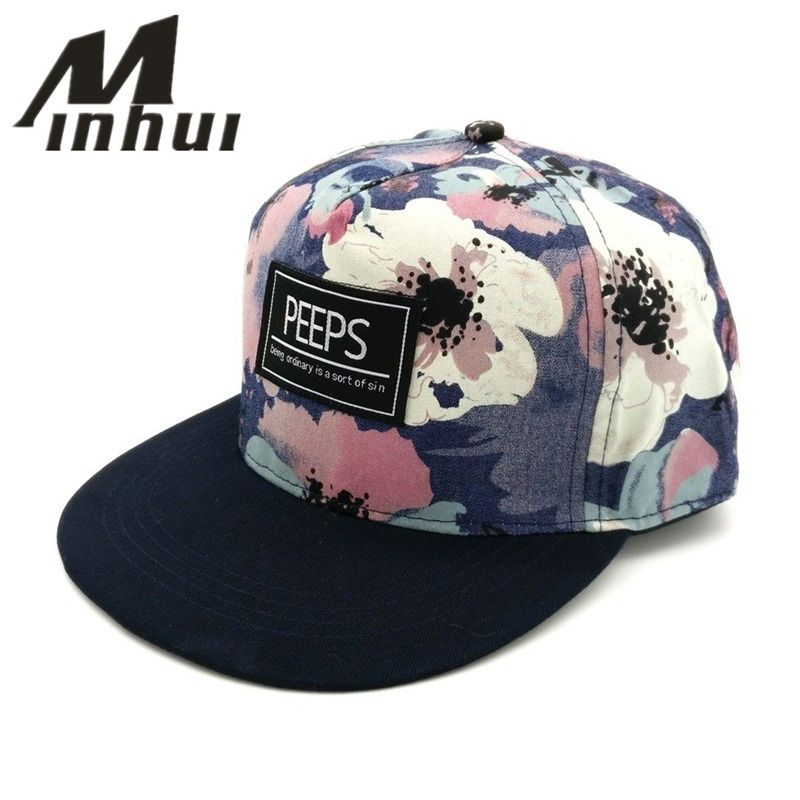 Minhui 2015 nouvelle mode PEEPS casquettes de Baseball Snapback à bord plat chapeau de danse de rue cadeau Hip Hop chapeaux pour hommes et femmes