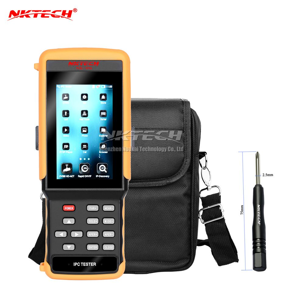 NKTECH NK-896 Ip-kamera CCTV Tester 5-IN-1 HD Video Security Monitor WiFi 4,3